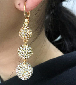 Pendant Earrings Jewelry Jewelry Earrings Sphere For Ladies New brand jewelry women Christmas Party Gift1