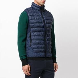 17FW G0124 DOWN GILET TOPSTONEY пуховик жилет Женщины Мужчины Куртки Мода Теплые пальто Открытый HFLSYRF087