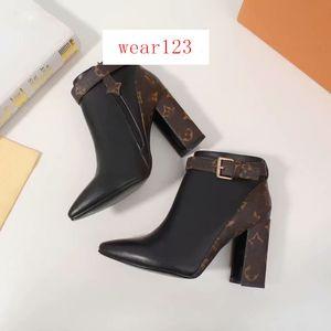Женская Ботильоны MATCHMAKE LOW BOOT Женская мода Обувь Ботильоны 1A5LML кожаный ботинок женщин Boots оптом