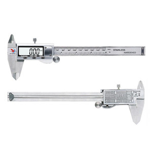 0-6 Inch Stainless Steel Digital Caliper with Case Electronic Measuring Tool for Metalworking Carpentry Jewelry
