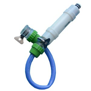 Outdoor-Camping-Car Wash Pump-Hahn-beweglichen Wasser-Filter für RV Zubehör Antibakterie Reisen Universal-Purifier
