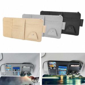 Cartão do certificado Car Sun Visor Storage Bag Bill Caixa Auto Interior Acessórios wvV9 #