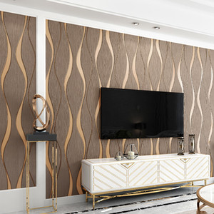 Non-woven Wallpaper Simple Wallpaper Roll Bedroom Dinning Living Room Wall Covering Modern 3D Wall Paper Home Decor