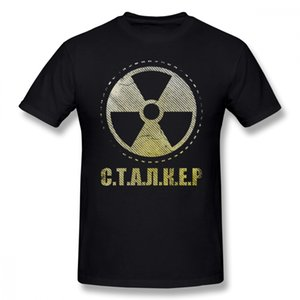 Acosador juego camiseta solitario facción Parche camiseta impresa Casual Tee camisa para hombre de algodón de manga corta camiseta linda