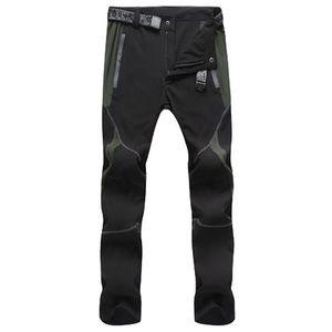 Pantalones 남성 패션 조깅 방풍 바지 3XL 등산 야외 남성 빠른 건조 바지 컬러 스티칭 산