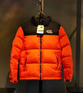Últimas baixo Parkas de luxo de alta qualidade esportes ao ar livre para baixo Parkas logotipo bordado quente grossa para baixo tecido jaqueta top Casacos jaqueta