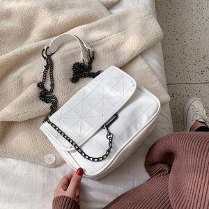 Lammei PU Leather Crossbody Bags For Women Chain Design Shoulder Messenger Bag Lady Small Mini Handbags Bags Small Purses Designer Cro DBaQ#
