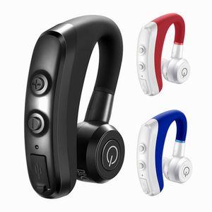 Громкой Bluetooth гарнитуры автомобиля беспроводного стерео Bluetooth наушники работают спортивные одноместный ухо висит ухо портативных мини наушники Горячий