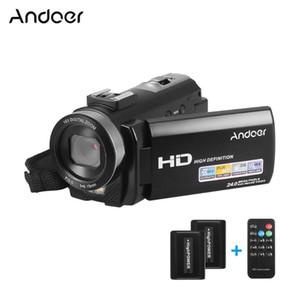 Andoer HDV-201LM 3inch Ekran 1080P FHD Dijital Video Kamera Fotografica Kamera 4MP 16X Dijital Zoom + şarj edilebilir batarya Seti