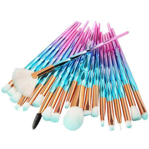 20Pc Makeup Brushes Set Powder Foundation Red Lips Lipsticks Eyeshadow Eyeliner Lip Cosmetic Brush Ladies Gift Cosmetic Maquiage