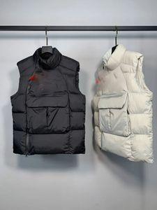 Mens Designer Jacket Vest White Duck Down Coat Windbreaker For Men Women Warm Coat