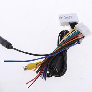 Car Audio 5 Kabel Kit Stereo Wiring Harness Draht Zubehör für Teana Qashqai Einfache Installation