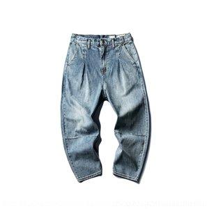 IJOsB Liangye LUOYE lavato pantaloni LUOYE- 9 Harlan denim 9 punti Z692 ku 9 lavato 9-fen Liangye 9 fen ku Harlan denim 9 punti pantaloni Z692 Öztek