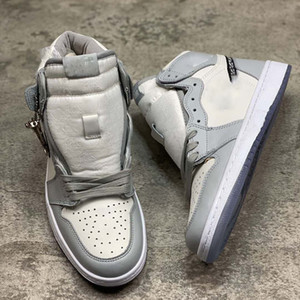 2020 new Officially revealed anniversary collaboration Grey White French fashion style label Kim Jones Sneaker shoe size36-46