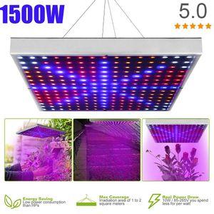 1500W LED Wachstumslampe für Pflanzen wachsen LED-Licht Full Spectrum Phyto Lampe Fitolampy Indoor Kräuter Licht für Gewächshaus LED wachsen
