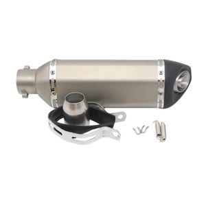 51mm silenciador del extractor del silenciador para ZZR ZX6R 250R EX250 Z800 Z750 Z250SL