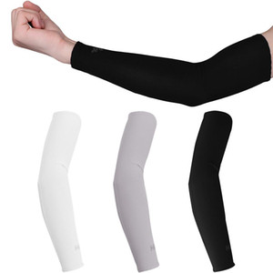 Arm Sleeves Ice Fabric Sun UV Protection Cooling Warmer Arms Sleeve Summer Sun Cool Outdoor Cuff Cover Arm Sleeve Unisex