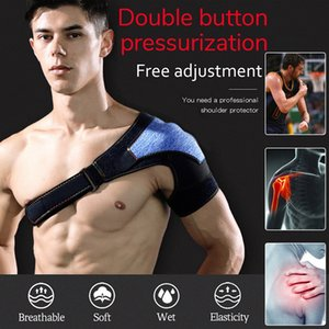 Left Right Shoulder arm warmers Brace Rotator Cuff Support Injury Dislocate Compression Wrap Cycling running exercise #XP25 8Syi#
