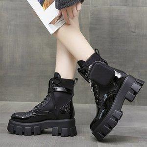 Женщины Ботильоны Узелок дамы Convinient Сумка Обувь Женский плоской платформой Non скольжения женщина Прохладный моды Комфортное Новый 2020 Горячие