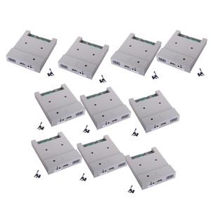 10pcs 3.5inç UFA1M44-100 Disket Sürücü USB ABS Konut 1.44M Kapasiteleri