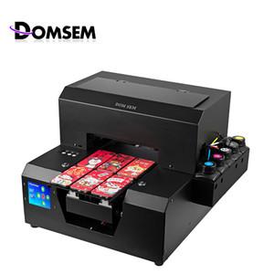 A4 UV Flatbed a getto d'inchiostro Screen Machine stampa fai da te personalizzati macchina libero con tocco dell'inchiostro a cristalli liquidi originale fabbrica della Cina