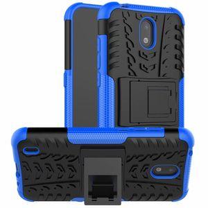 Para Sony Xperia L4 Caso robusto Combo híbrido Armadura New Bracket Impacto Holster tampa protetora capa para Sony Xperia L4