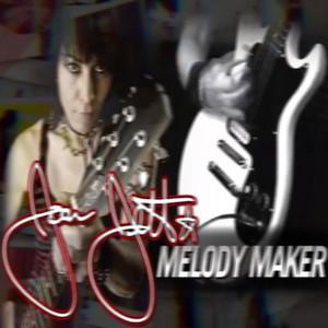 Ücretsiz Nakliye / WH / 22 Fret / Joan Jett İmza Melody Maker 6 Dize Elektrik Gitar / Hardcase ile