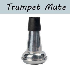 NAOMI Trumpet Mute Lightweight Aluminum Mute Straight Practice Trumpet Mute
