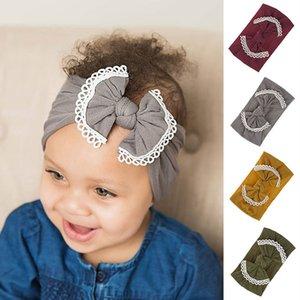 Bande nuova fascia neonato bambino Turbante morbida neonata dei capretti archi fasce capelli per le ragazze dei bambini Haarband Accessori per capelli