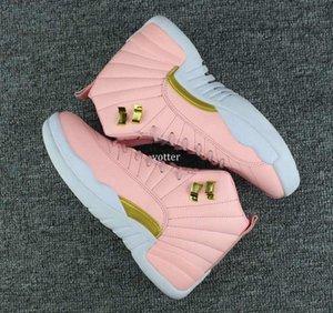 Vivid Dynamische Basketball Neue Schuh-Frauen 12 Pink Gs 12s Sport Turnschuh-Trainer-Qualitäts-Basketball-Schuh-Größe 36-40
