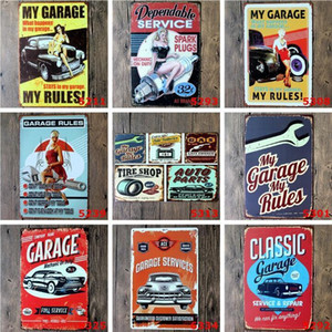 Sign Decor Bar Home Oil Vintage Garage Wall Metal Man Poster Pictures Cave Signs Retro Motor Texaco Signs Art 20x30cm Sinclair Tin bbyQn