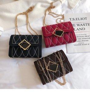 High Quality Women Fashion Hangbag Casual Chain Bags Female Messenger Flap Bag Square Crossbody Mobile Phone Case