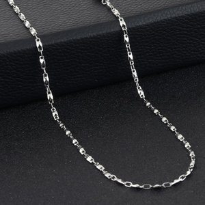 Stylish Stainless Steel Link Chain Necklaces Tiny Short Necklaces Women Girls Fashion Jewelry Delicate Choker Gifts colar MN256