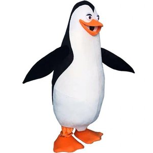 Penguins of Madagascar Penguin Mascot Costume Fancy Dress adult size