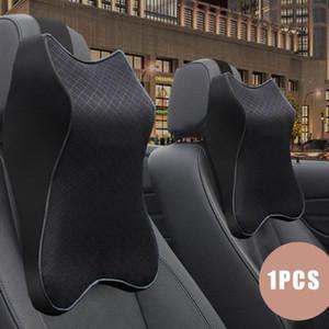3D en mousse à mémoire de voiture Neck Pillow voiture oreiller taille Rest Siège arrière Reste Coussin lombaire Pour Accessoires