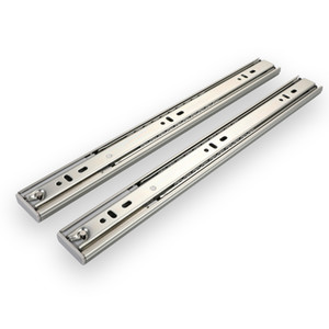 In Stock 35mm Track Cold Rolled Steel Zinc Plated Silo Good Price Tables Mechanism Rails Ball Bearing Telescopic Channel