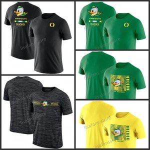 Mens Oregon Ducks Team Emette Temped Performance T-Shirt GFX Velocity Listine Legend Performance Performance Tee Sleeves College Pullover magliette
