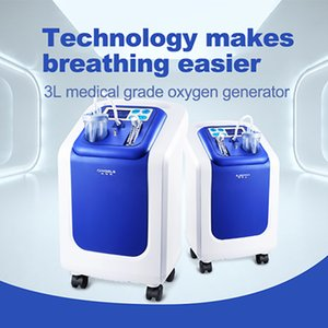 3L Oxygen Generator Household Oxygen Machine Small Intelligent Voice Double Supply Equipment With Atomizing Silent Type