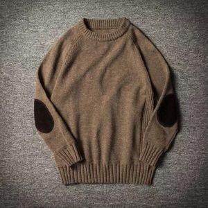 okkdey 2020 осень и зима новый стиль Утолщенные свет сердечника свитер вокруг шеи пуловер свитер для молодых мужчин Мужчины