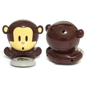 Battery Operated Portable DIY Monkey Shape ABS Tool Home Cute Manicure Mini Nail Dryer