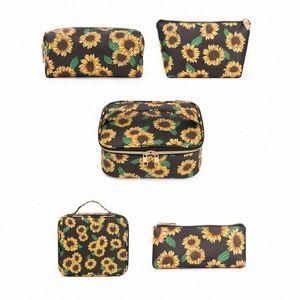 Multifunctional Cosmetic Makeup Travel Wash Bag Fashion Toiletry Storage Pouch Portable Organizer Make up Case Handbag LV9n#