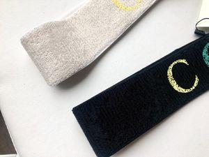 Designer Elastic Sports Headbands para Mulheres senhoras de Luxo letras coloridas bandas de cabelo presentes Acessórios headwraps Lenço Cabelo Natal