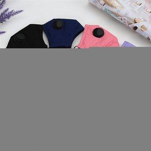 Máscara cubrir la boca PM2,5 respirador de cara a prueba de polvo anti-bacteriana reutilizable lavable con vavle algodón Máscaras 100 piezas T1i2233