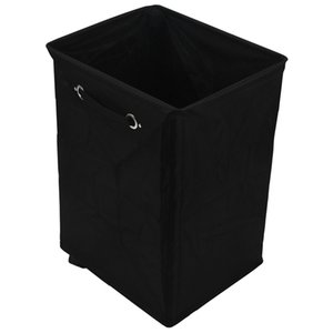 Promotion! Dirty Clothes Laundry Basket Foldable Storage Basket with Wheel for Office Waterproof Oxford Bathroom Laundry Hamper