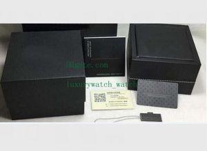 Черная кожа Оригинальной коробки бумага с сумкой 17RS 36RS Мужской Женские часы для подарочных коробки Горячие продаж