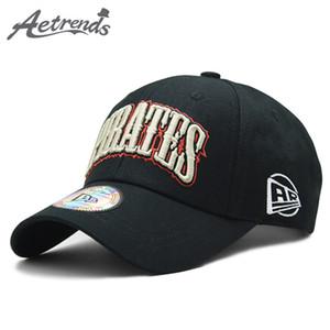 [AETRENDS] 2020 de haute qualité pur coton Casquette de baseball Hommes Femmes Outdoor Sport Caps Chapeaux Snapbacks os Z-6382
