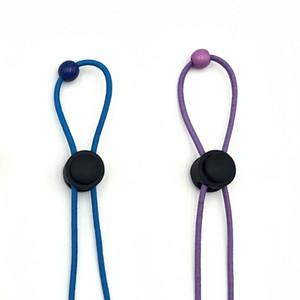 Máscara del oído bolsa impermeable móvil máscara hijos adultos cuerda perdido anti-anti-derrame cerebral acollador de cuerda que cuelga del cuello del oído HHF943