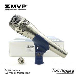 الصف فائقة قلبي KSM8N الفنية لايف غناء الحيوي السلكية ميكروفون KSM8 يده هيئة التصنيع العسكري للتسجيل كاريوكي