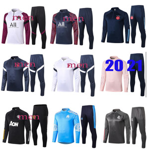 adulte hommes Survêtement formation de football maillot d'entraînement de football 2021 nouveau survetement de pied chandal le jogging Football