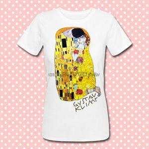 Футболка донны Il Bacio ди Gustav Klimt поцелуй квадро живопись